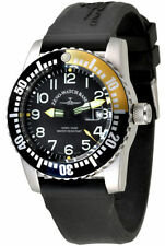 Zeno-Watch Basel Swiss Made Airplane Diver 6349-515Q-12-a1-9 Ronda Saphir 50ATM