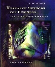 Research Methods for Business: A Skill-Building Approach Sekaran, Uma Hardcover