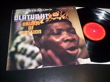 "Olatunji! ""Drums Of Passion"" LP Columbia ‎– PC 8210 Usa"