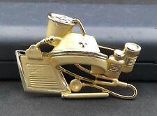 Vintage Gold Tone Nurse Brooch Pin