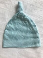 Lou Lou And Company Light Blue Ribbed Hat