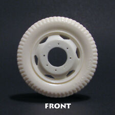JFW3 Jimmy Flintstone 1/25 scale resin Truck Tires with Wheels Set of 4