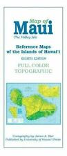 Reference Maps of the Islands of Hawaii: Maui, The Valley Isle, Atlases, World,