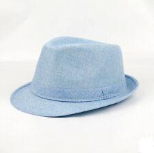 84c28c30002 Unisex Fedora Trilby Gangster Cap Men Women Summer Beach Sun Straw Panama  Hat