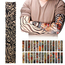 New Outdoor Cycling Fishing Sports Tattoo UV Protection Rock Arm Sleeves