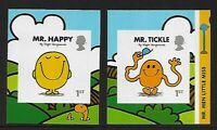 GB 2016 sg3901-3902 Mr Men Little Miss self adhesive booklet stamps MNH
