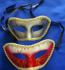 2 Masks, Masquerade Carnevale Costume Venetian Party Mask Unisex New Free ship