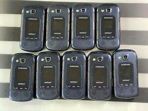 Samsung CONVOY 4 Flip Phone  B690V  -Black -Verizon LOT of 9 *GOOD Conditions