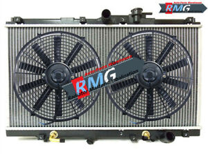 1494 Radiator Fits For 1994-1997 Honda Accord 2.2L 4-Cyl 1995 1996 +Fans