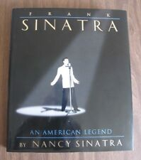 Frank Sinatra - An American Legend By Nancy Sinatra hardcover book with CD 1995