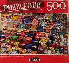 "500 Pc Jigsaw Puzzles 11""x18.25"" 1/Pk s20c, Select: Apples Birds Castles Doors P"