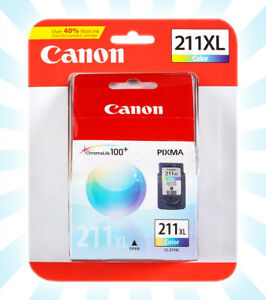 Canon CL-211XL Color Ink Cartridge Extra Large Genuine Authentic NEW