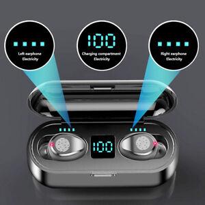 Kopfhörer Bluetooth TWS In-Ear Buds Touch Control Ohrhörer Wireless Headset DHL