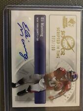 Eli Manning Auto /100 Scripted In Time 2007 Rookie Threads 73/100