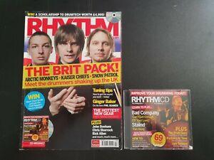 Rhythm Magazine July 2006 No.126 (276)(With CD) Arctic Monkeys Kaiser Chiefs