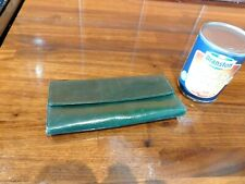 Green Coloured Needle Case Stamped Asprey & Co. Ltd Of London