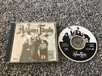 The Addams Family Turbografx COMPLETE IN Jewel Case, Manual Only Tested WORKS