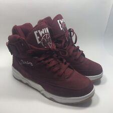 Patrick Ewing 33 HI Men's Size 13 red Maroon Gum Sneakers 1EW90013-602