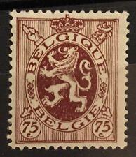 Belgium #211 MHROG VF A Great Fresh Clean Centered Stamp X1/20