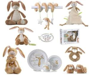 Guess How Much I Love You Rattle, Soft Toy, Nutbrown Hare Spiral, Lullaby, Gifts