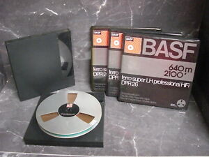 16 Tonbänder - Philips - BASF - TDK - Sony im Schuber / OVP / Aluminiumspule