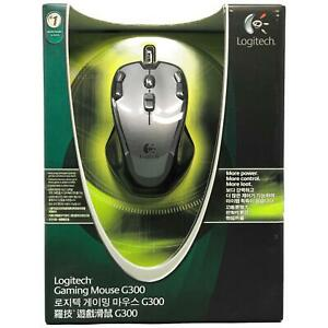 Logitech Gaming Mouse G300 with Nine Programmable Controls