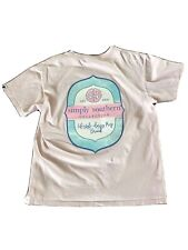 Simply Southern Shirt Youth Large Pink Great Condition