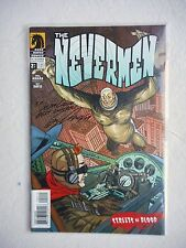 NEVERMEN: STREETS OF BLOOD N°3 SIGNED GUY DAVIS VO ETAT NEUF / NEAR MINT / MINT