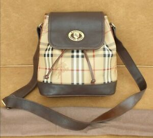 Authentic Burberry Bucket Sling Bag