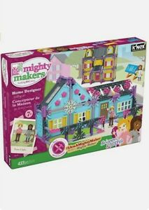 Mighty Makers Home Design Kit - K'NEX 43535 - NEW IN BOX