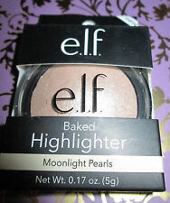 e.l.f. BAKED HIGHLIGHTER in #83704 MOONLIGHT PEARLS 0.17oz. (5g) BNIB
