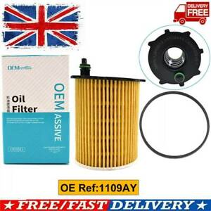 Oil Filter For Citroen Peugeot 1.4 1.6 HDI Ford 1.4 1.5 1.6 TDCI Diesel 1109AY