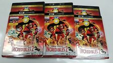 Incredibles 2 4K Ultra HD Blu-ray/Blu-ray/Digital Code NEW Disney