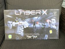 Laser X Fusion Laser Tag 2 Player Set Blaster Guns W/ Chest Targets Tested Works