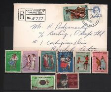 MUSIC LOT X 7 STAMPS COLOMBIA & NEW ZEALAND + COVER CANADA 1976 CULTURE ART