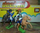 Britains Deetail Waterloo Mounted Cavalry British & French Soldiers dueling