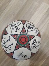 Ac Milan Soccer ball Signed with 12 players original autograph Season 2012-2013