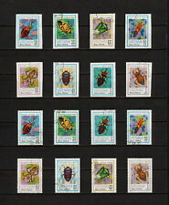 (YYAZ 622) Vietnam 1982 IMPERF + Perf NH Mich 1258 -65 Scott 1221 -28 Insects