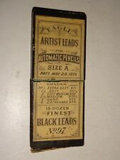 1879 Eagle Artist Leads for Automatic Pencils Size A #97 box Pat. May 20th