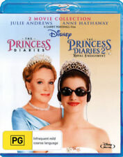 THE PRINCESS DIARIES 1 & 2 movie collection -  Blu Ray - Sealed Region B