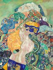 GUSTAV KLIMT AUSTRIAN BABY CRADLE OLD ART PAINTING POSTER PRINT BB5545A