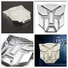 Transformers Autobots Solar Power LED Flash Emblem  Strobe Warning Light for car