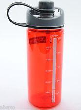 Nalgene Tritan 20 oz Multidrink Water Bottle, Red
