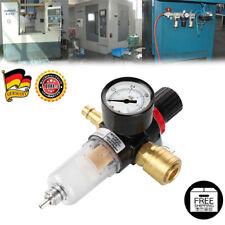 """1/4"""" Druckminderer Druckluftregler mit Filter & Wasserabscheider Wartungseinheit"""