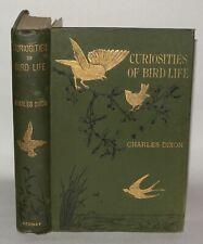 Curiosities Of Bird Life, Charles Dixon, 1897 - HB, Sexual Adornments.