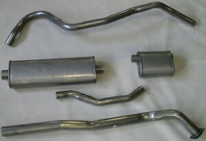 1942-48 CHRYSLER TOWN & COUNTRY & NEW YORKER CONVERTIBLE EXHAUST, 304 STAINLESS