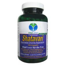 Shatavari, Gesundheit + VitalPower für die Frau 180 Pulver Kapseln, #26165