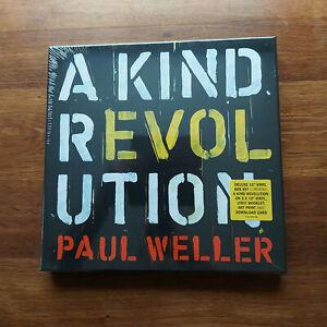 "PAUL WELLER A KIND REVOLUTION 5 X 10""  BOX SET MINT"