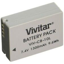 Vivitar B57 NB-10L 1300mAh Replacement Li-ion Battery For PowerShot SX40 SX50