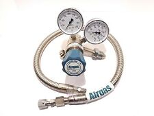 Airgas Y12-244F580 Two Stage High Purity Brass Analytical Cylinder Regulator